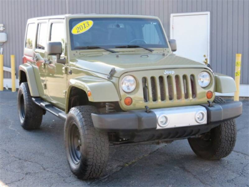 2013 Jeep Wrangler Unlimited car for sale in Detroit