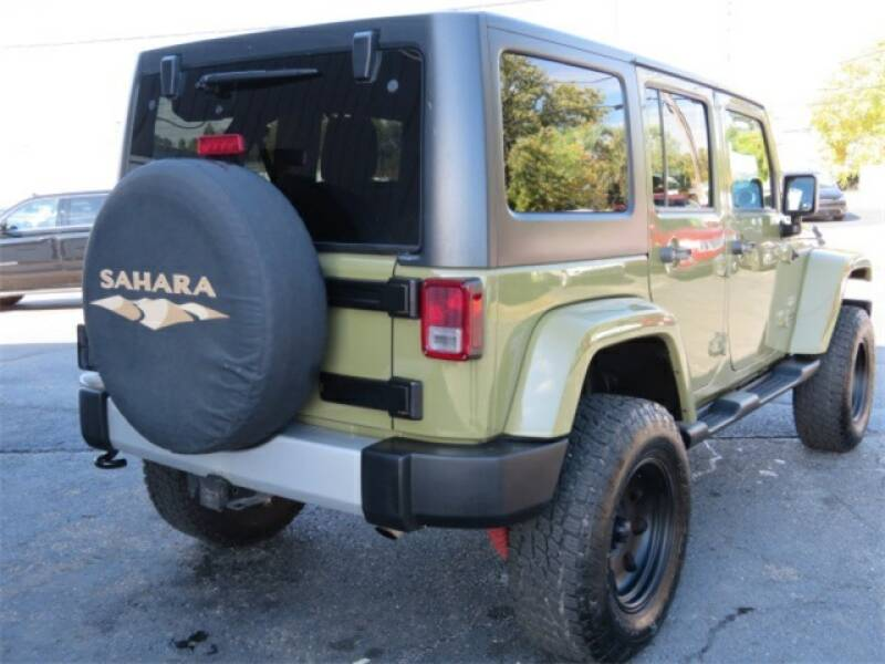 2013 Jeep Wrangler Unlimited Detroit Used Car for Sale