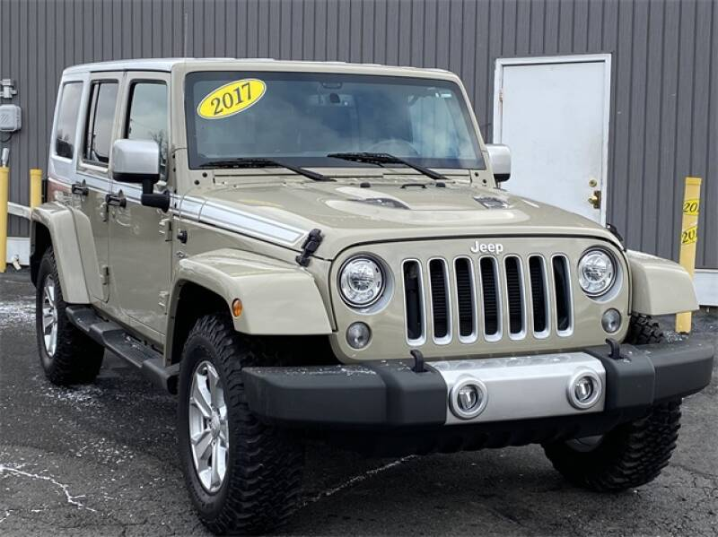 2017 Jeep Wrangler Unlimited car for sale in Detroit
