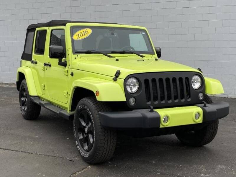 2016 Jeep Wrangler Unlimited car for sale in Detroit