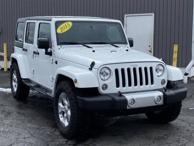 2015 Jeep Wrangler Unlimited car for sale in Detroit