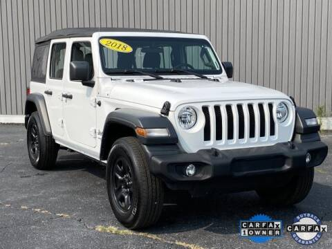 2018 Jeep Wrangler Unlimited for sale at Bankruptcy Auto Loans Now - powered by Semaj in Brighton MI