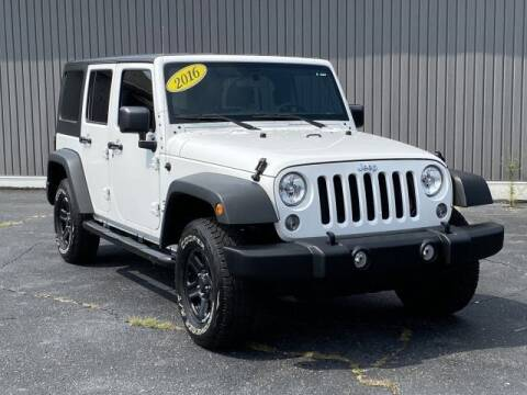 2016 Jeep Wrangler Unlimited for sale at Bankruptcy Auto Loans Now - powered by Semaj in Brighton MI