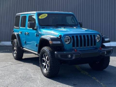 2020 Jeep Wrangler Unlimited for sale at Bankruptcy Auto Loans Now - powered by Semaj in Brighton MI