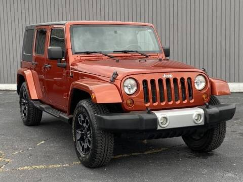 2009 Jeep Wrangler Unlimited for sale at Bankruptcy Auto Loans Now - powered by Semaj in Brighton MI