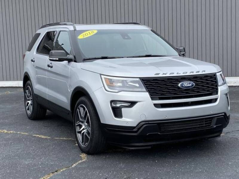 2018 Ford Explorer for sale at Bankruptcy Auto Loans Now - powered by Semaj in Brighton MI