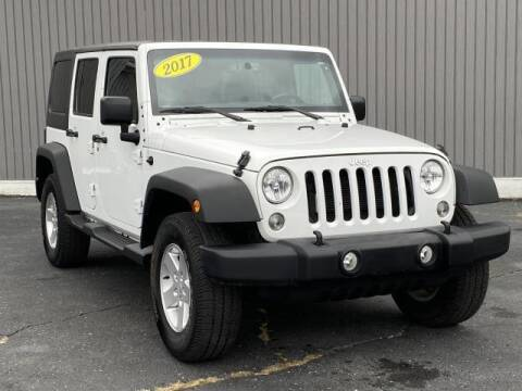 2017 Jeep Wrangler Unlimited for sale at Bankruptcy Auto Loans Now - powered by Semaj in Brighton MI