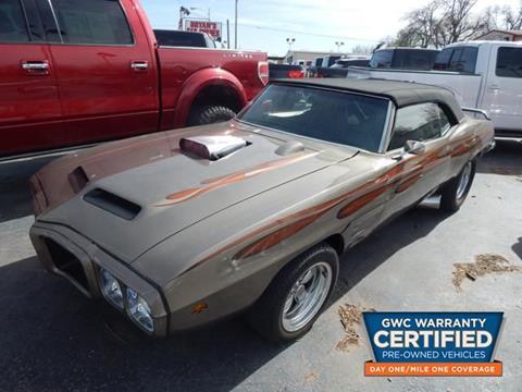 1969 Pontiac Firebird for sale in Midwest City, OK