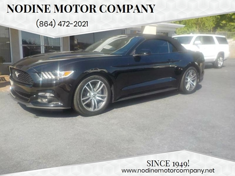 Convertible For Sale In Inman Sc Nodine Motor Company