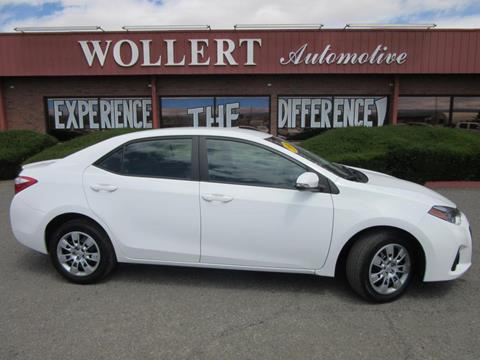 2016 Toyota Corolla for sale in Montrose, CO