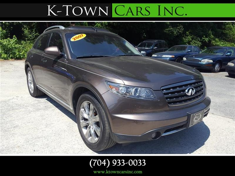 2007 Infiniti FX45 for sale at K - Town Cars Inc in Kannapolis NC