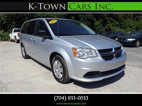 2012 Dodge Grand Caravan for sale at K - Town Cars Inc in Kannapolis NC