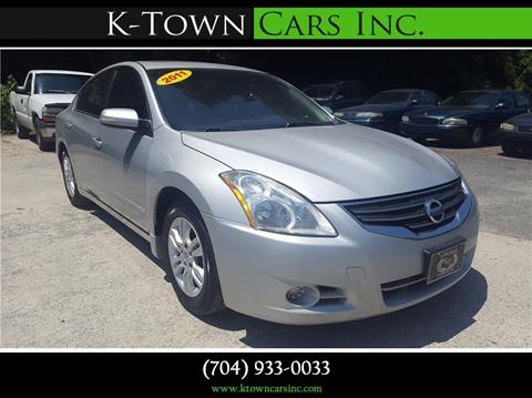 2011 Nissan Altima for sale at K - Town Cars Inc in Kannapolis NC
