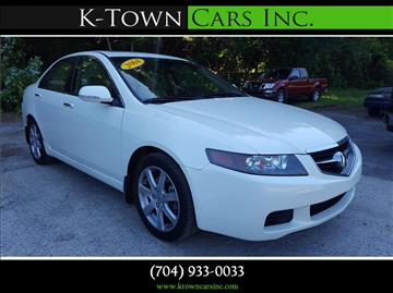 2004 Acura TSX for sale at K - Town Cars Inc in Kannapolis NC