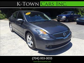 2008 Nissan Altima for sale at K - Town Cars Inc in Kannapolis NC