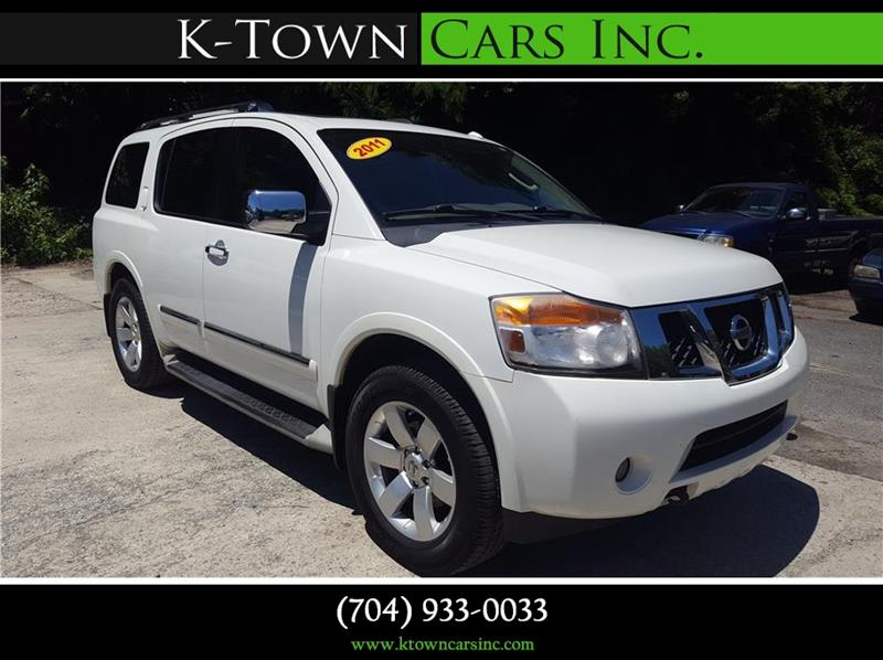 2011 Nissan Armada for sale at K - Town Cars Inc in Kannapolis NC