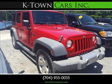 2007 Jeep Wrangler Unlimited for sale at K - Town Cars Inc in Kannapolis NC