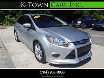 2013 Ford Focus for sale at K - Town Cars Inc in Kannapolis NC