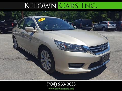 2014 Honda Accord for sale at K - Town Cars Inc in Kannapolis NC