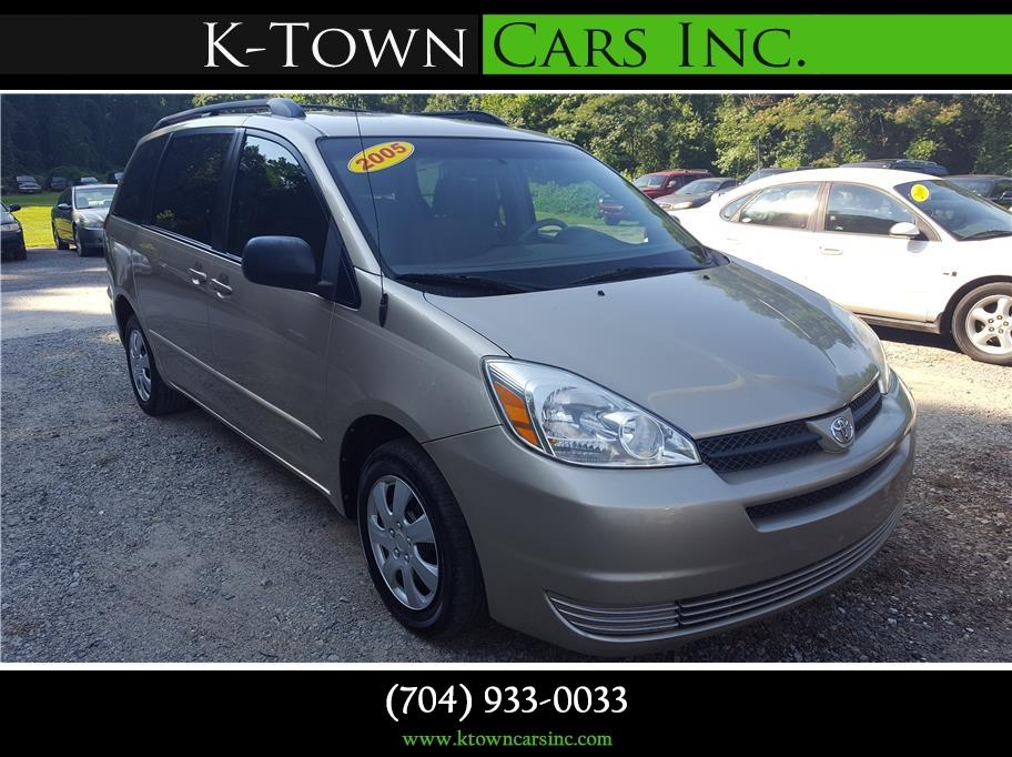 2005 Toyota Sienna for sale at K - Town Cars Inc in Kannapolis NC