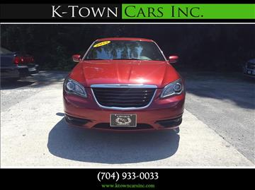 2013 Chrysler 200 for sale at K - Town Cars Inc in Kannapolis NC