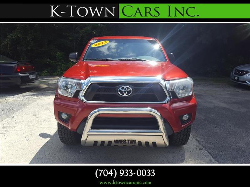 2013 Toyota Tacoma for sale at K - Town Cars Inc in Kannapolis NC