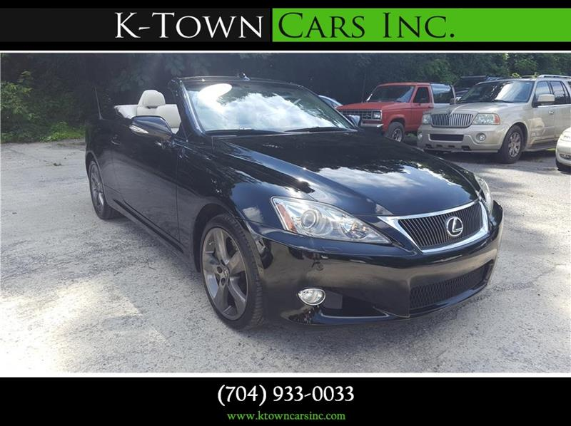 2010 Lexus IS 350C for sale at K - Town Cars Inc in Kannapolis NC