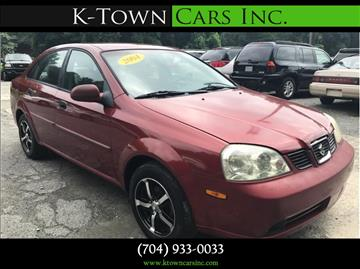 2004 Suzuki Forenza for sale at K - Town Cars Inc in Kannapolis NC