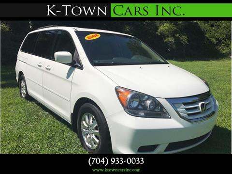 2008 Honda Odyssey for sale at K - Town Cars Inc in Kannapolis NC