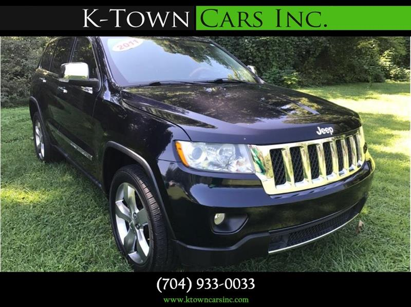 2011 Jeep Grand Cherokee for sale at K - Town Cars Inc in Kannapolis NC