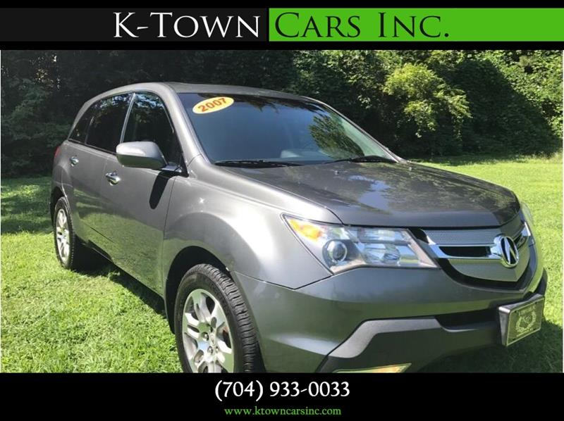 2007 Acura MDX for sale at K - Town Cars Inc in Kannapolis NC