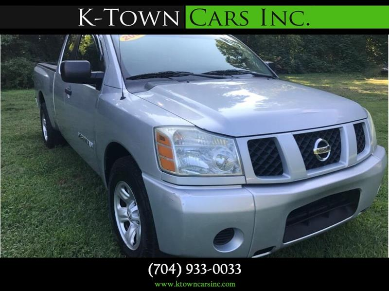 2005 Nissan Titan for sale at K - Town Cars Inc in Kannapolis NC