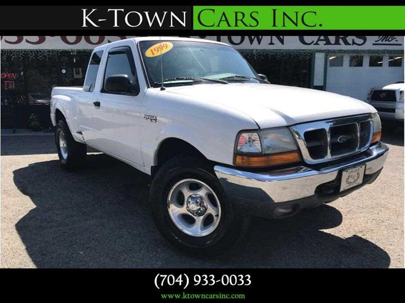1999 FORD RANGER PICKUP 2D white abs 4-wheel amfm stereo dual air bags power steering stee