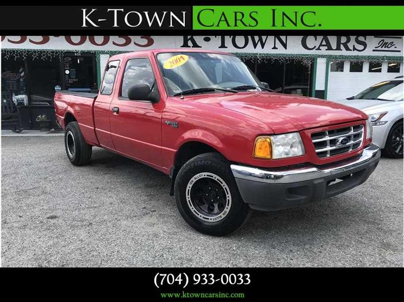 2001 FORD RANGER PICKUP 2D red abs 4-wheel air conditioning amfm stereo cdmp3 single disc