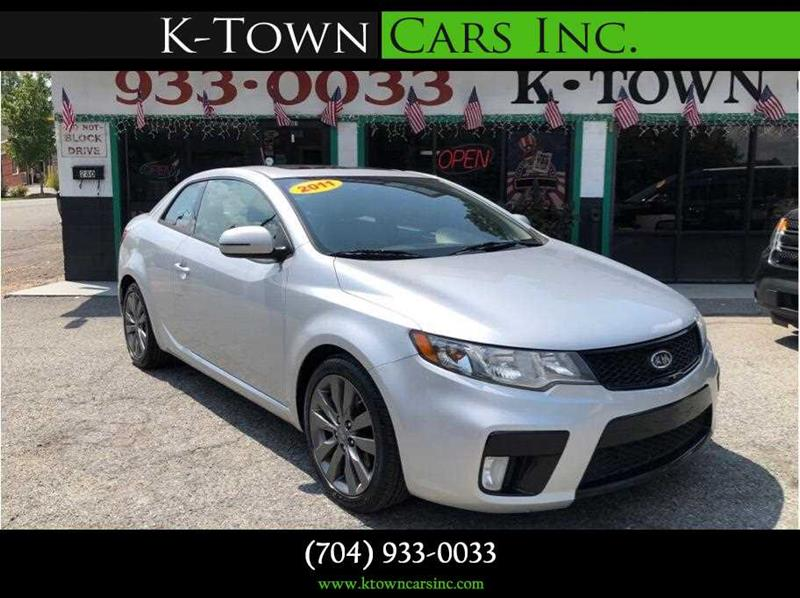 2011 Kia Forte Koup For Sale At K   Town Cars Inc In Kannapolis NC