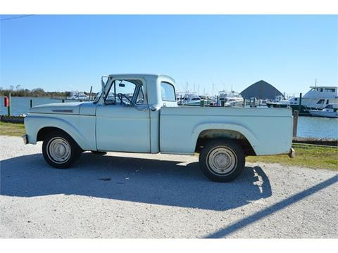 1962 Ford F-100 for sale in Morehead City, NC