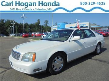 2004 Cadillac DeVille for sale in Columbus, MS