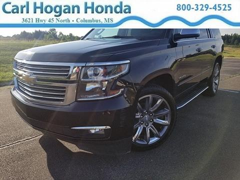 2015 Chevrolet Tahoe for sale in Columbus, MS