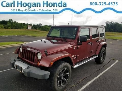 2010 Jeep Wrangler Unlimited for sale in Columbus, MS