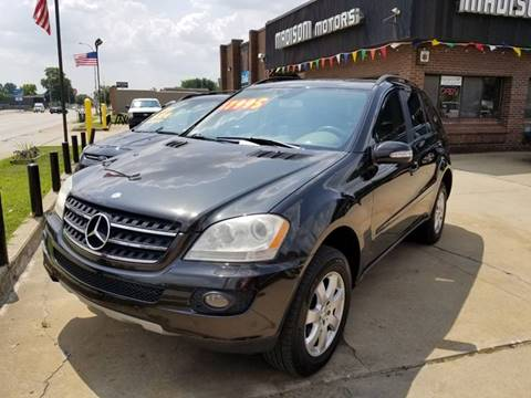 2007 Mercedes-Benz M-Class for sale at Madison Motor Sales in Madison Heights MI