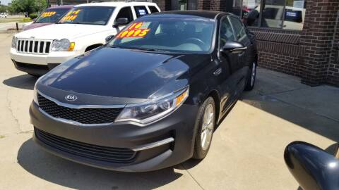 2016 Kia Optima for sale at Madison Motor Sales in Madison Heights MI