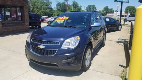 2015 Chevrolet Equinox for sale at Madison Motor Sales in Madison Heights MI