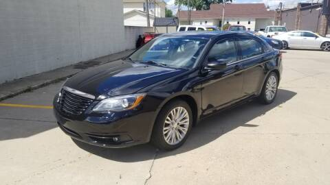 2014 Chrysler 200 for sale at Madison Motor Sales in Madison Heights MI