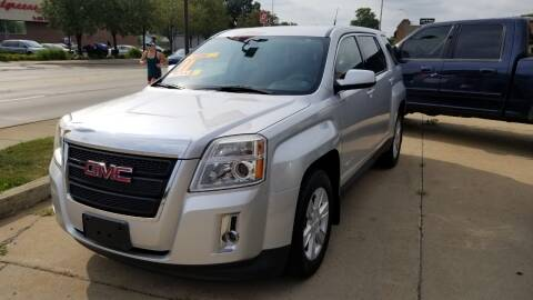 2011 GMC Terrain for sale at Madison Motor Sales in Madison Heights MI