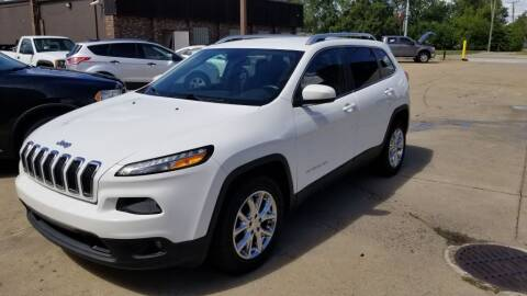 2016 Jeep Cherokee for sale at Madison Motor Sales in Madison Heights MI