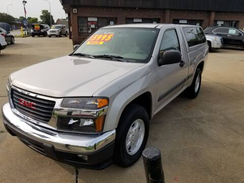 2006 GMC Canyon for sale at Madison Motor Sales in Madison Heights MI