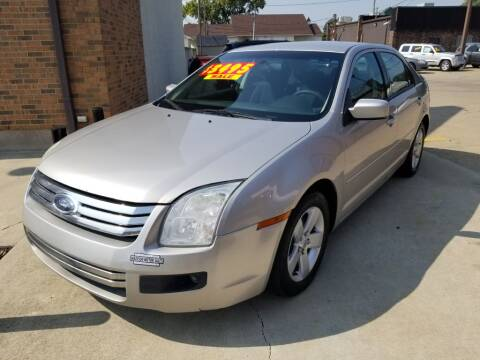 2008 Ford Fusion for sale at Madison Motor Sales in Madison Heights MI