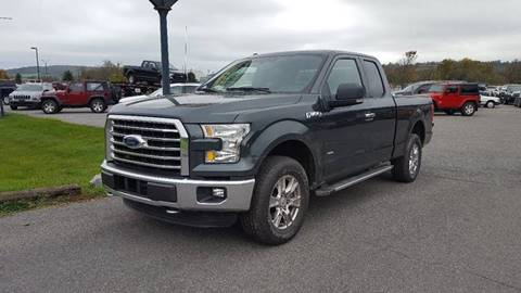 2015 Ford F-150 for sale at DAMIAN'S AUTOMOTIVE in Hamilton NY