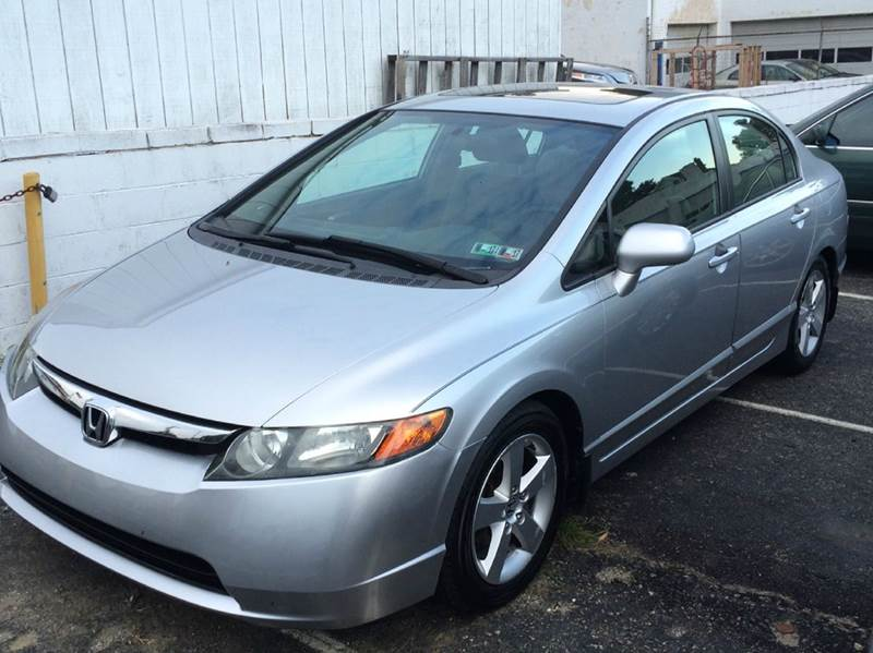 2006 honda civic ex 4dr sedan w automatic in glenolden pa. Black Bedroom Furniture Sets. Home Design Ideas