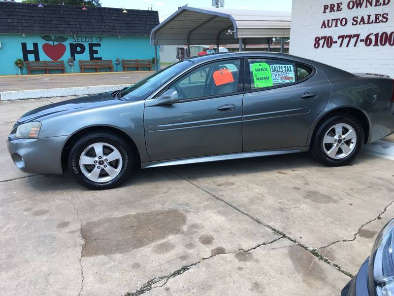 2005 pontiac grand prix in hope ar bramlett motors